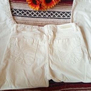 Calvin Klein Jeans - Calvin Klein Skinny Crop White Jeans
